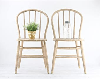 Farmhouse Chairs Rustic Dining Chairs Antique Spindle Chairs Primitive Chairs Bentwood Back Chairs Dining Chairs Old Beige Chairs Farmhouse