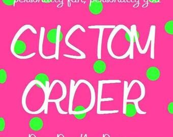 custom listing for BERNADETTE only