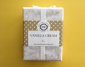 Vanilla Cream Soap | Cold Process Soap | Plant Based Soap