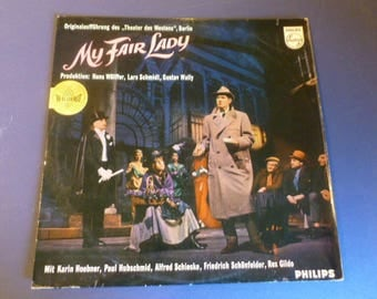 My Fair Lady Vinyl Record LP 840 411 SY Phillips Records Made in Germany