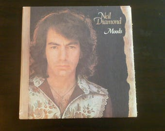 Neil Diamond Moods Vinyl Record LP 93136 MCA Records 1972