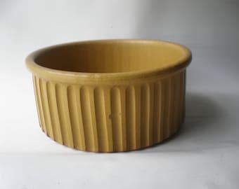 Vintage Bennington Pottery Large Stoneware Bowl