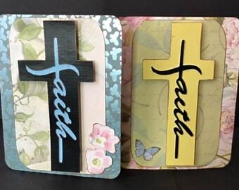 Faith Card Kit, SVG & DS Compatible