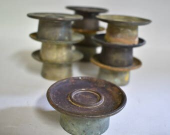 Candle stands 6186, Buddhist shrine,