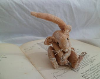 Fake Taxidermy Soft Sculpture Dormouse