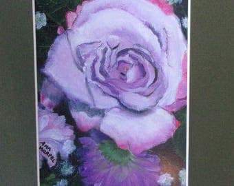Lavender Rose and Flowers