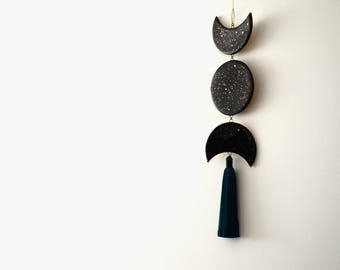 Moon phase wall decor -