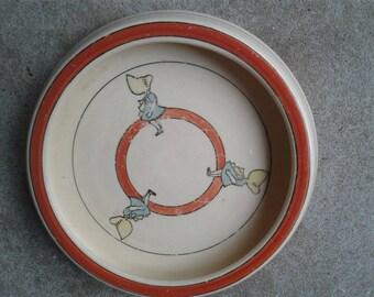 Roseville Sun Bonnett Juvenile Plate
