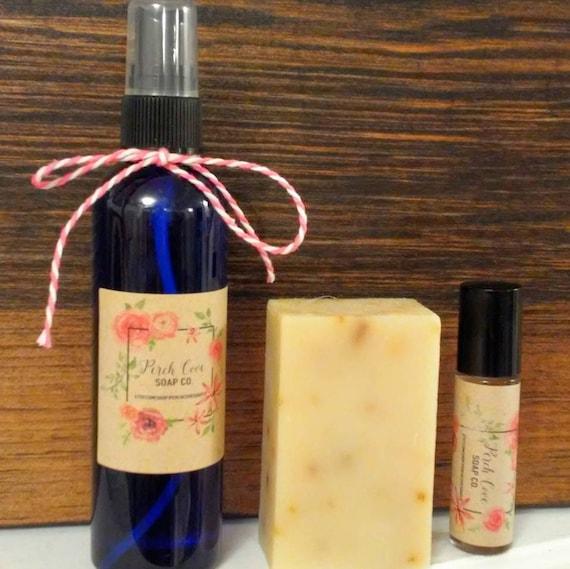 Menopause Spray Yoga Mat Spray Organic Soap Peppermint