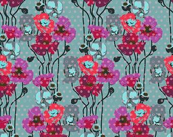 ON SALE***PREORDER Floral Retrospective Anna Maria Horner Plum Raindrops Pop