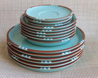 15 Dansk Mesa Japan International LTD Designs, Microwave Safe, KW Japan, Dinner Plates, Salad Plates, Tea Cup Plates, FREE Domestic Shipping