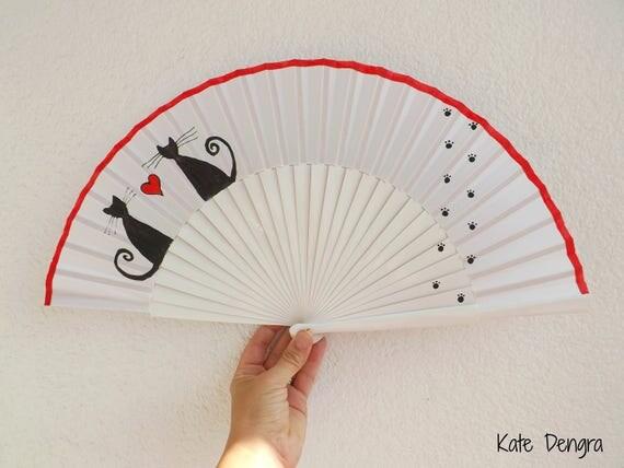 Cat Lovers Hand Fan