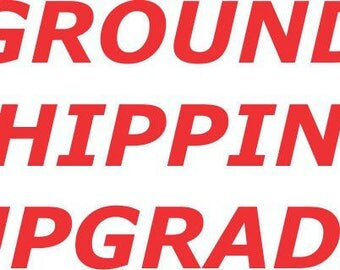 Ground Rush Upgraded Shipping - Ground from economy - Get it in time!
