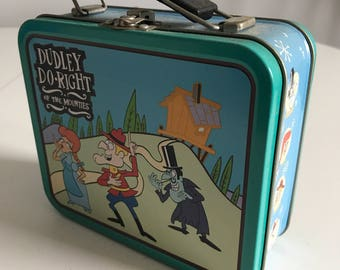 Dudley Do Right Metal Lunchbox