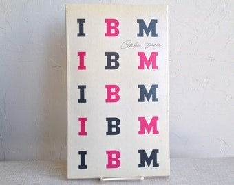 IBM Carbon Paper Package Design By Paul Rand