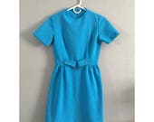 Vintage Sky Blue Mod Dress