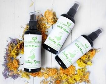 Postpartum Spray | Organic | Peri Spray | Postpartum healing | Hemorrhoids | Baby Shower Gift | New Mom Gift | Pregnancy | Birth