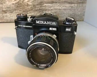 Vintage Miranda Auto Sensorex 35MM film camera - We have a vintage camera for you