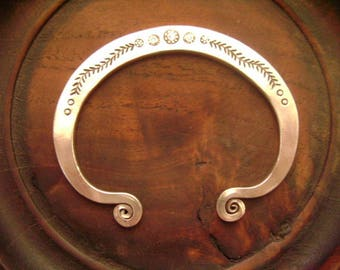 Tribal Silver Bracelet - Thai Silver Bracelet (27)