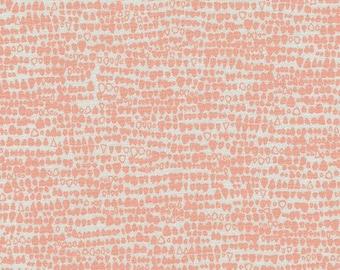 Gleaned Seeds in Peach, Carolyn Friedlander, Robert Kaufman Fabrics, 100% Cotton Fabric, AFR-17291-144 PEACH