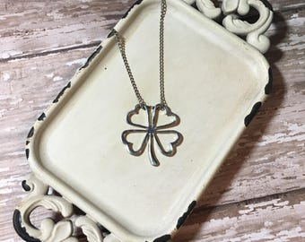 Shamrock Necklace - Lucky Shamrock | FREE SHIPPING | St. Patrick's Day