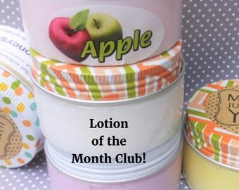 lotion of the month club, health and beauty, lotion, skin care, body lotion, shea lotion, 5 months