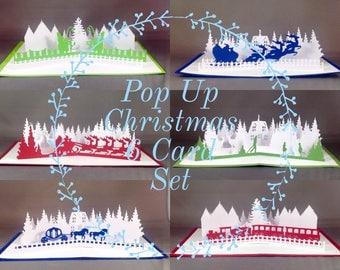 Cute Christmas Cards 2017 Christmas Card Sets | Pop Up Cards | Funny Christmas Card 2017 Christmas Card | Holiday Cards Set | Xmas Cards