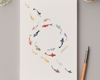 Large A5 Koi Carp Notebook