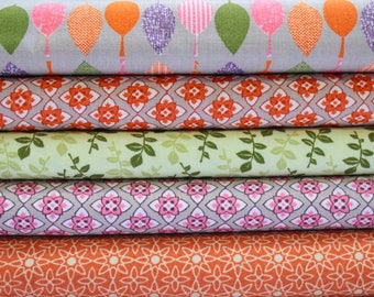 Fat quarters fabric bundle, fat quarters pack, autumn fall cotton fabric, fall fabric, quilting fabric, sewing supplies, UK SHOP