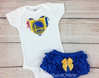 Golden State Warriors Girls Outfit