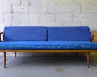 Mid Century MODERN couch DAYBED sofa