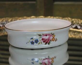 Vintage Royal Winton Grimwades, Made In England, Soap Dish, Trinket Dish, Jewelry Holder, Change Dish, Vintage Dish