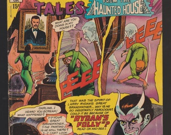 Charlton Comics Ghostly Tales from the Haunted House No.76 Pub. 1969