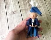 Scrooge Ornament - OOAK