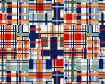 Cheer Madras Patch Plaid From Michael Miller