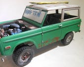 FordBronco,ScaleModel,RatRod,RustedWreck,Suv,OffRoading,1/24Scale