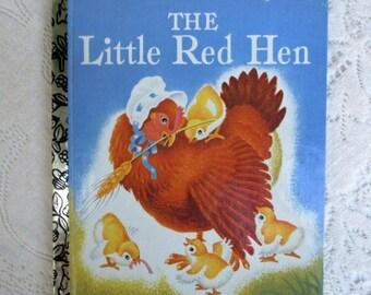 20% Summer SALE The Little Red Hen~1992 Commemorative Edition Little Golden Book