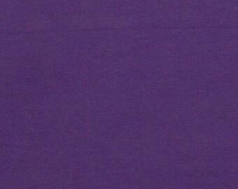 Cotton Lycra Spandex Knit Jersey Fabric 12 oz Heavy - by the yard - Purple (349)