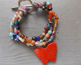 Butterfly bracelet -choice of three colors