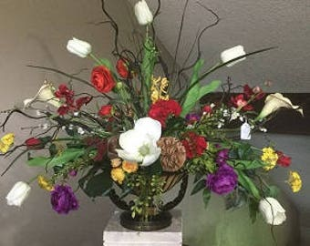 Beautiful Exotic Custom Flower Arrangement