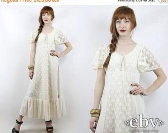 Hippie Wedding Dress Hippy Boho Vintage