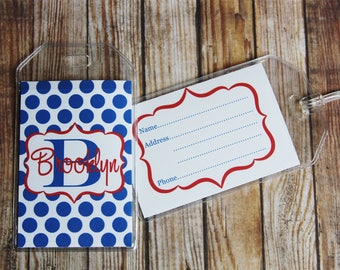 24 Colors-Luggage Tag, Personalized Bag Tag, Monogrammed Luggage Tag, Custom Luggage Tag, Backpack Tag