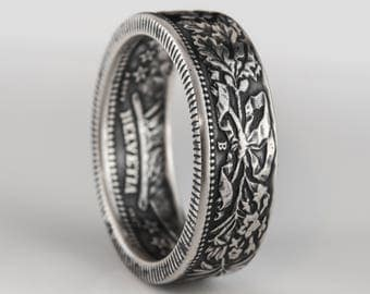 Switzerland - 2 Francs - Coin Ring - Silver (.835)