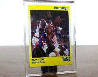 1990 Patrick Ewing Star Co. Card Basketball NBA New York Knicks 38
