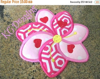 ON SALE ITH Floral Coaster 08 Machine Applique Embroidery Design - 5x7 & 6x8