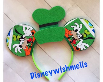 Goofy Disney Inspired Mouse Ears
