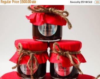 SALE 15% Off Ends Sunday 200 Mini Mason Jar Favors