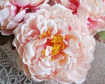 13 cm Forest Series Peony Silk Flower Head /wedding/ Flower Wreath /Flower Bouquet /wedding /Artificial Flowers Findings (s.ig)