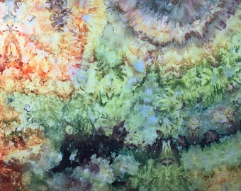 Ice Dyed Fabric, Muted Melodies #3, 1 Yard (MB) #57