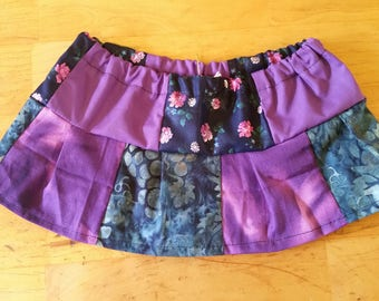 Wine and Roses skirt